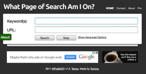 What page of search am i on
